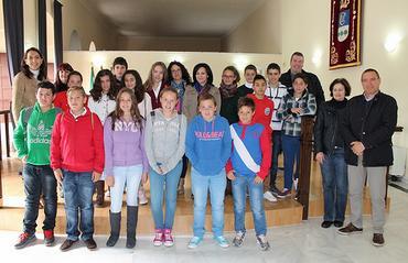 Reunión del Consejo Local de la Infancia de La Carlota (Córdoba)