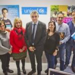 Comité UNICEF La Rioja, presidente Juan Carlos Castroviejo.