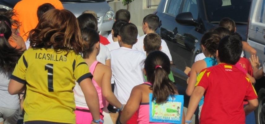 El Ayuntamiento de Espartinas (Sevilla) organiza la 'I Carrera Gotas para Níger'