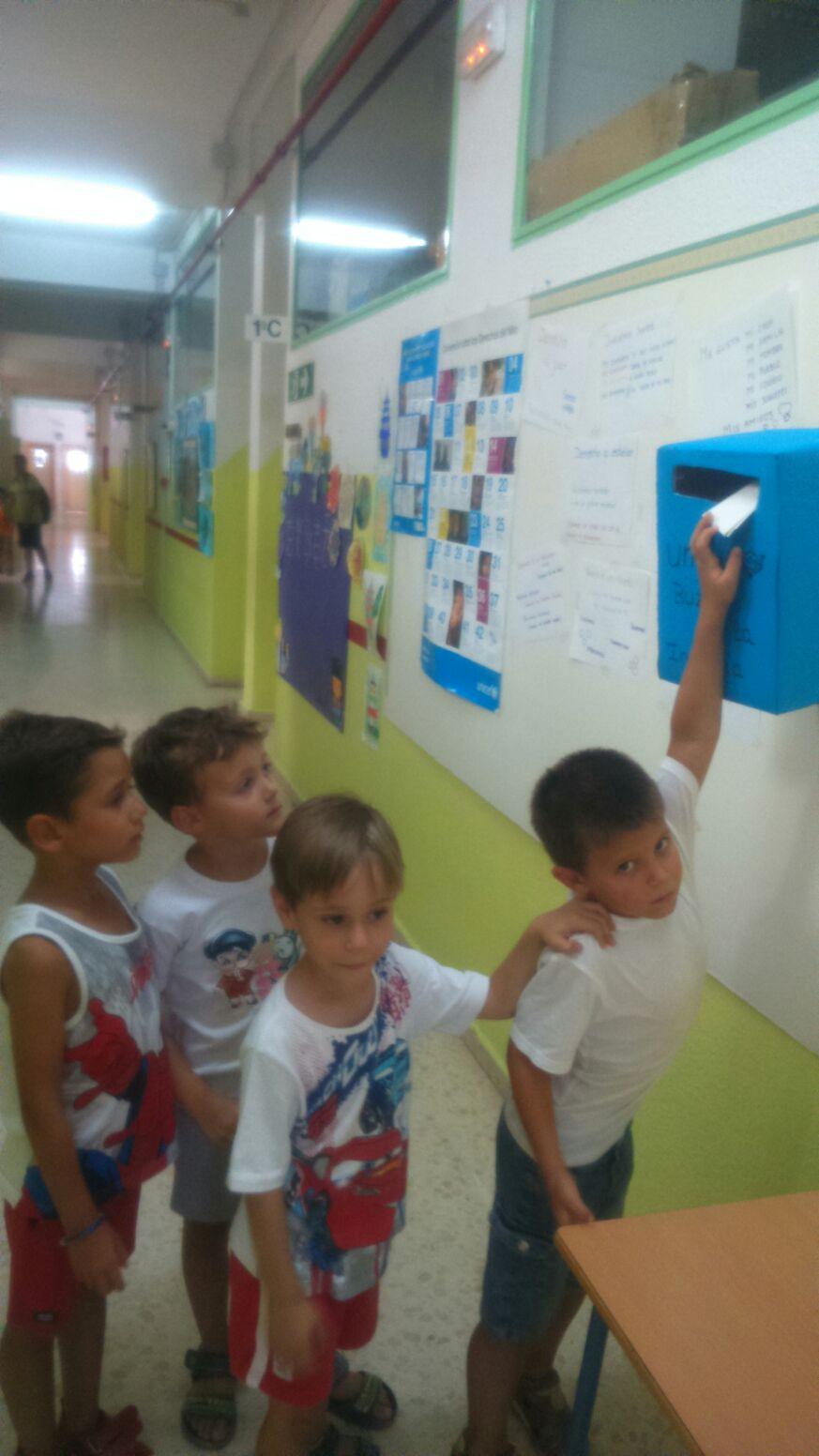 'Buzones de Infancia' en las escuelas de verano en Fuente Palmera (Córdoba)