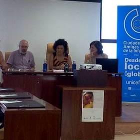 Jornada 'Las redes comunitarias y el derecho a la salud maternoinfantil' en San Bartolomé de la Torre (Huelva)