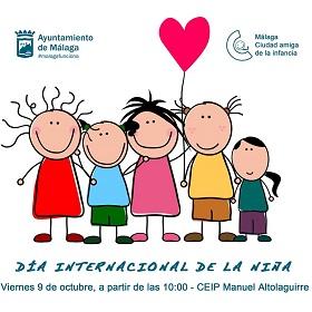 La infancia de Málaga se vuelca con el próximo 'Día de la Niña' (11 de octubre)