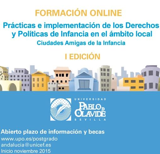 Matrícula abierta: fórmate en derechos y políticas de infancia en el ámbito local