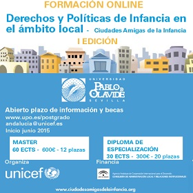 Últimas plazas para formación online becada por UNICEF
