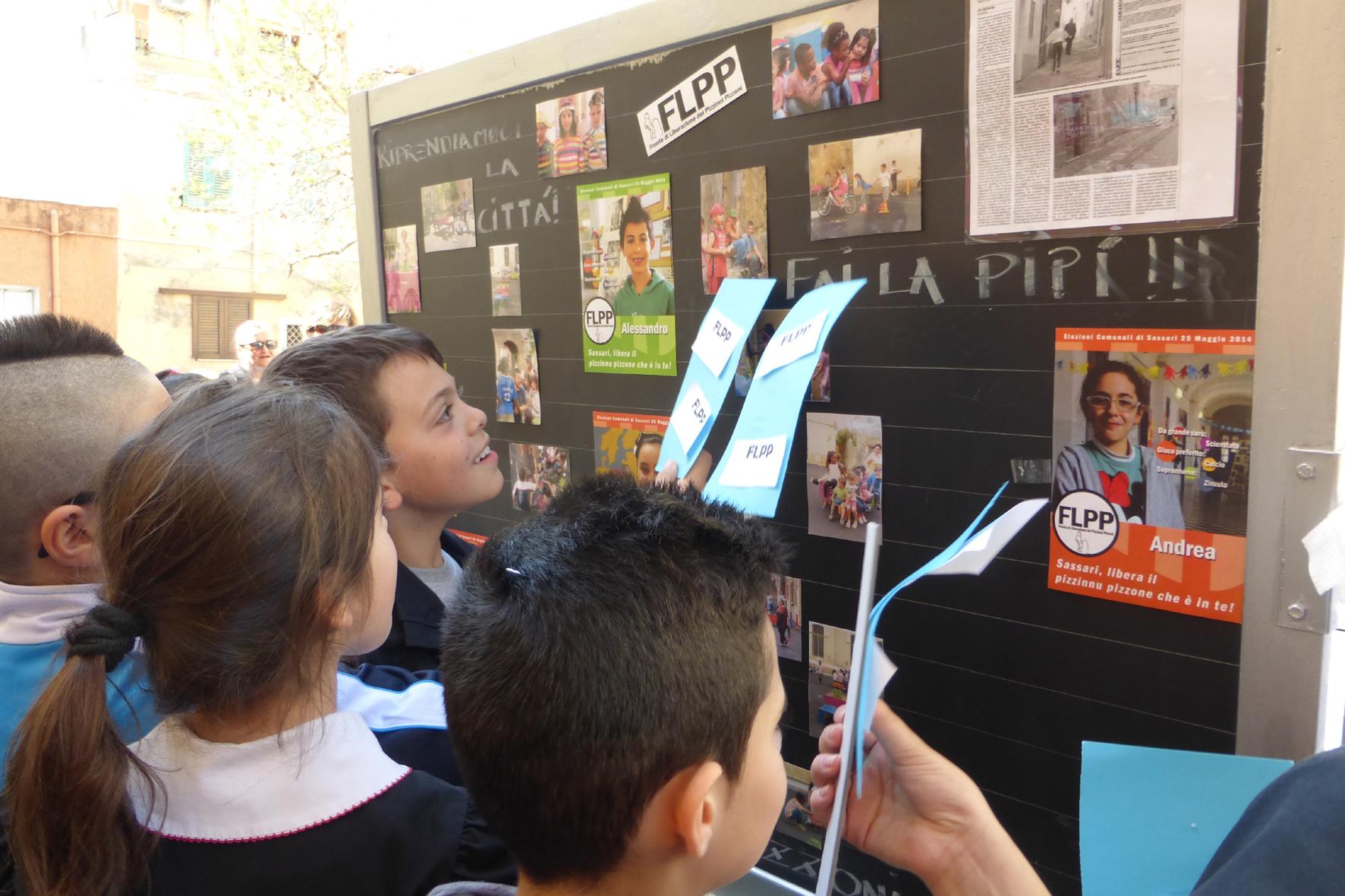 Los niños de un pueblo italiano proponen un examen de infancia para los candidatos a las Elecciones Municipales