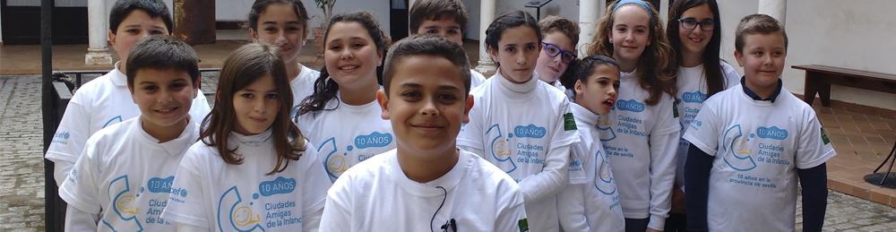 Sevilla, más de 10 años de Ciudades Amigas de la Infancia