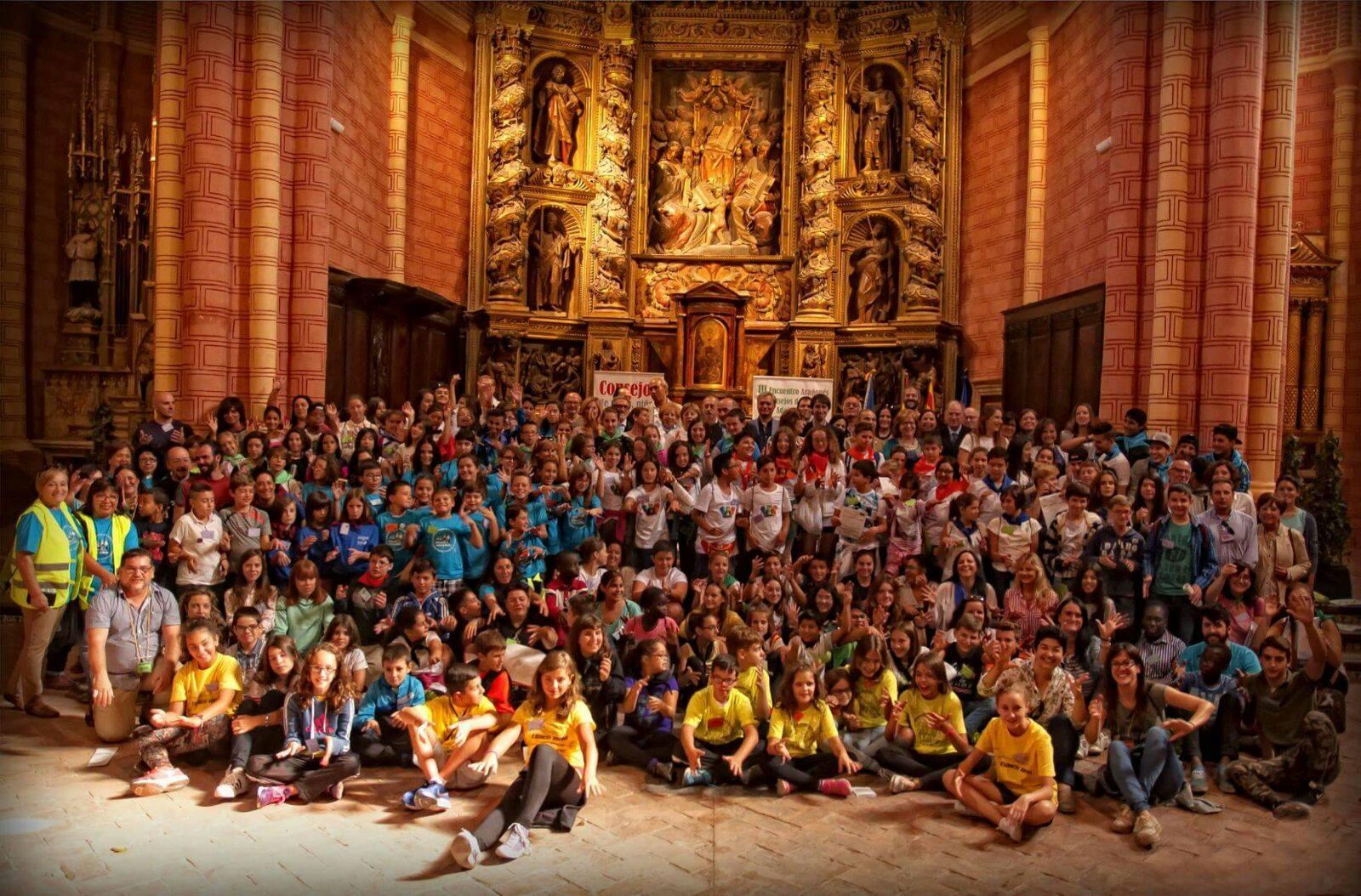 Más de 150 niños y adolescentes participan en el III Encuentro de Consejos de Infancia de Aragón