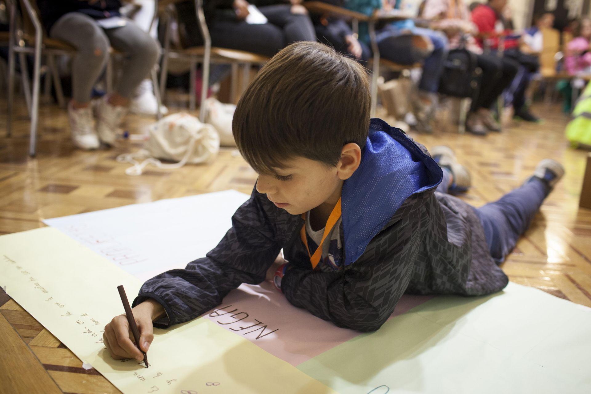 40 propuestas de los niños para mejorar sus vidas