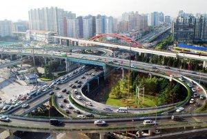 Vista panorámica de Shanghái, China. © Julius Mwelu/UN-Habitat