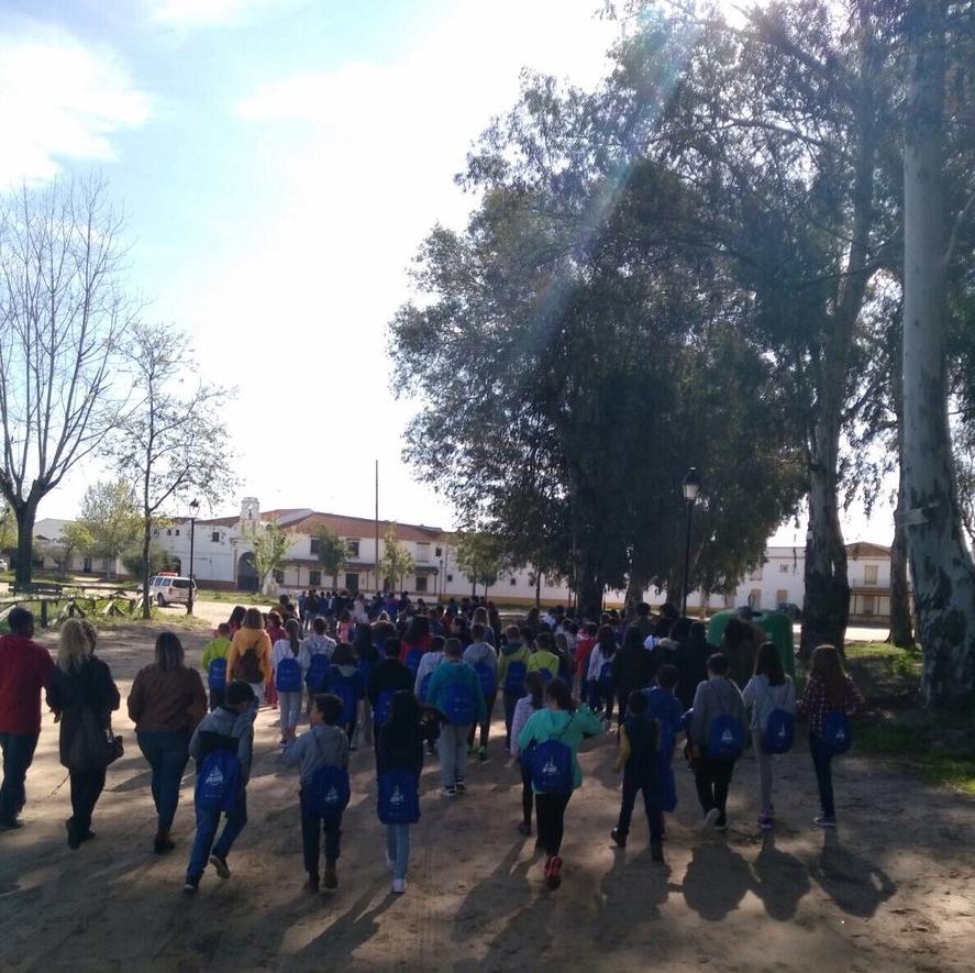 Más de 100 niños participan en el I Encuentro de Consejos de Infancia y Adolescencia de Huelva
