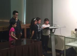 Niños y niñas de Laviana exponen su valoración