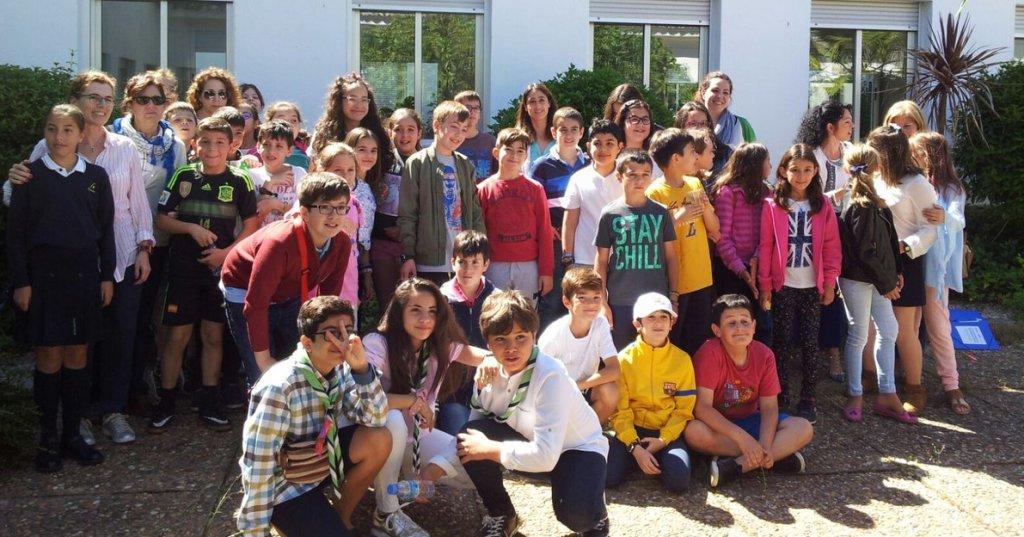 Participantes en el I Foro Autonómico de Participación Infantil