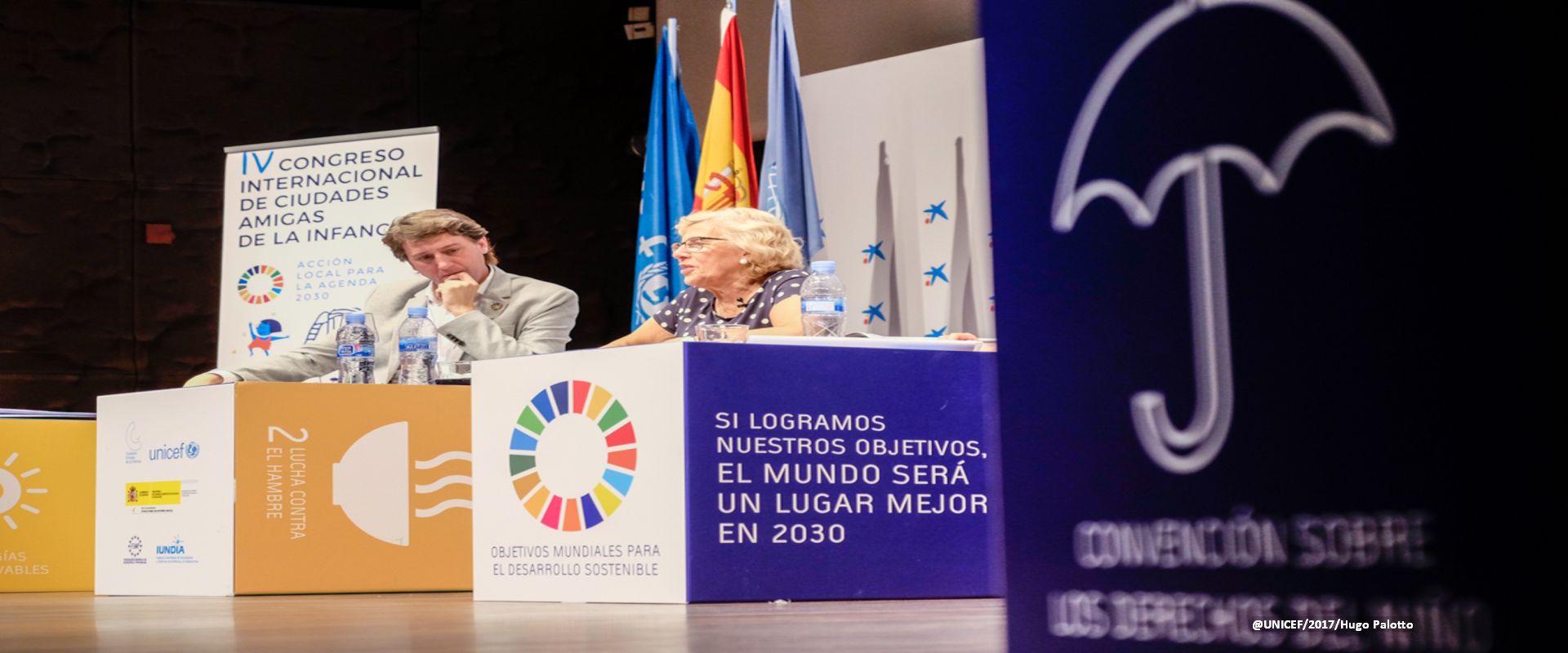 Municipios españoles y Agenda 2030 en favor de la infancia