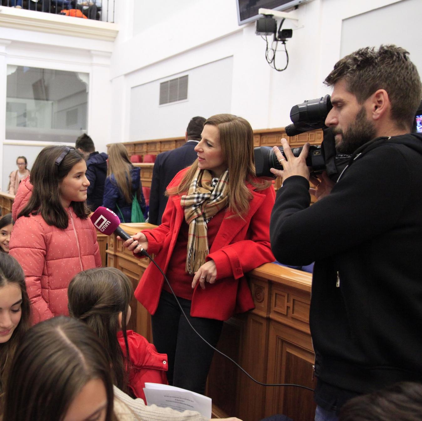 La infancia de Castilla-La Mancha se moviliza por el planeta