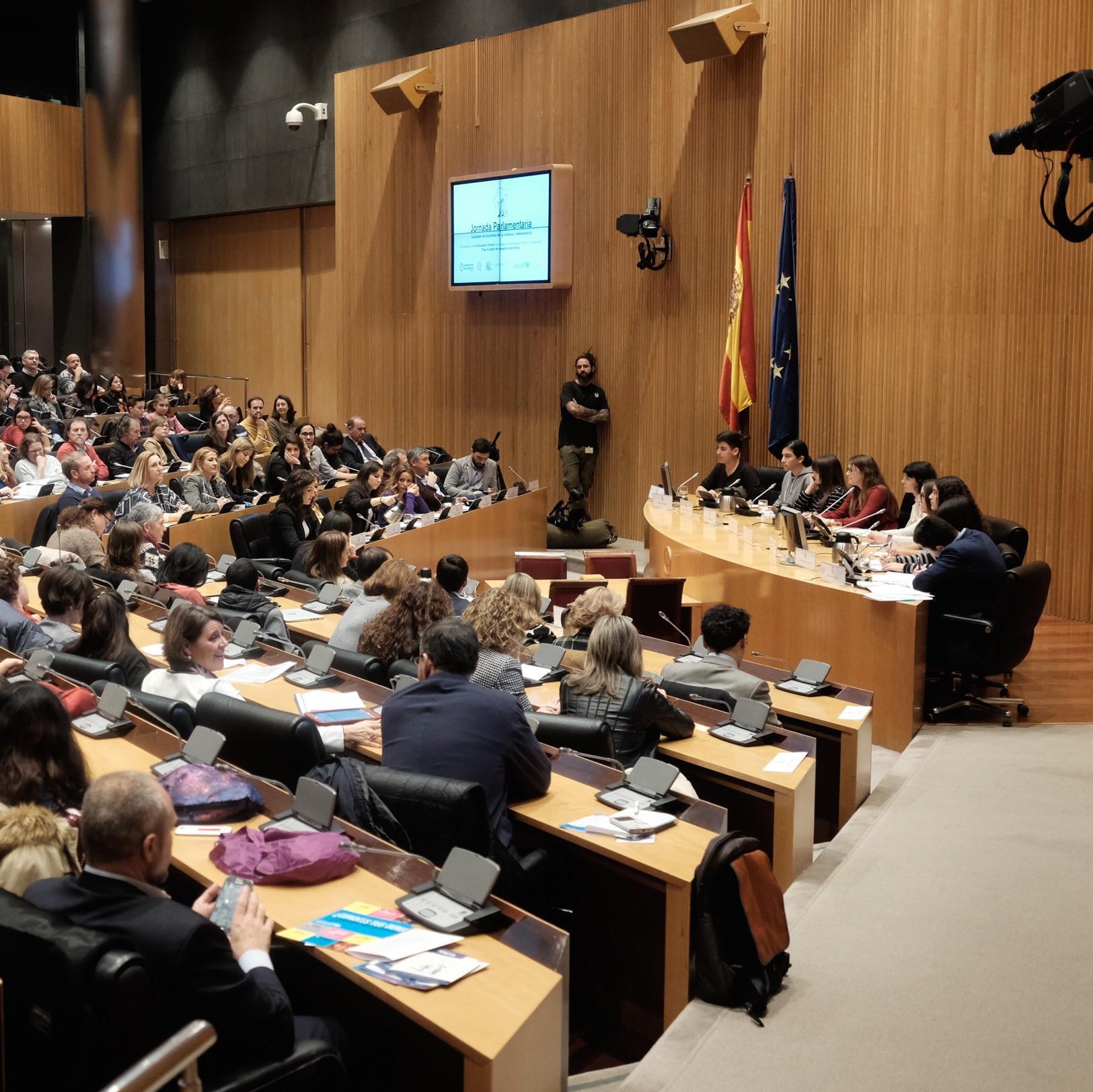 El 24 de enero la infancia vuelve al Congreso de los Diputados para conocer los avances de sus propuestas