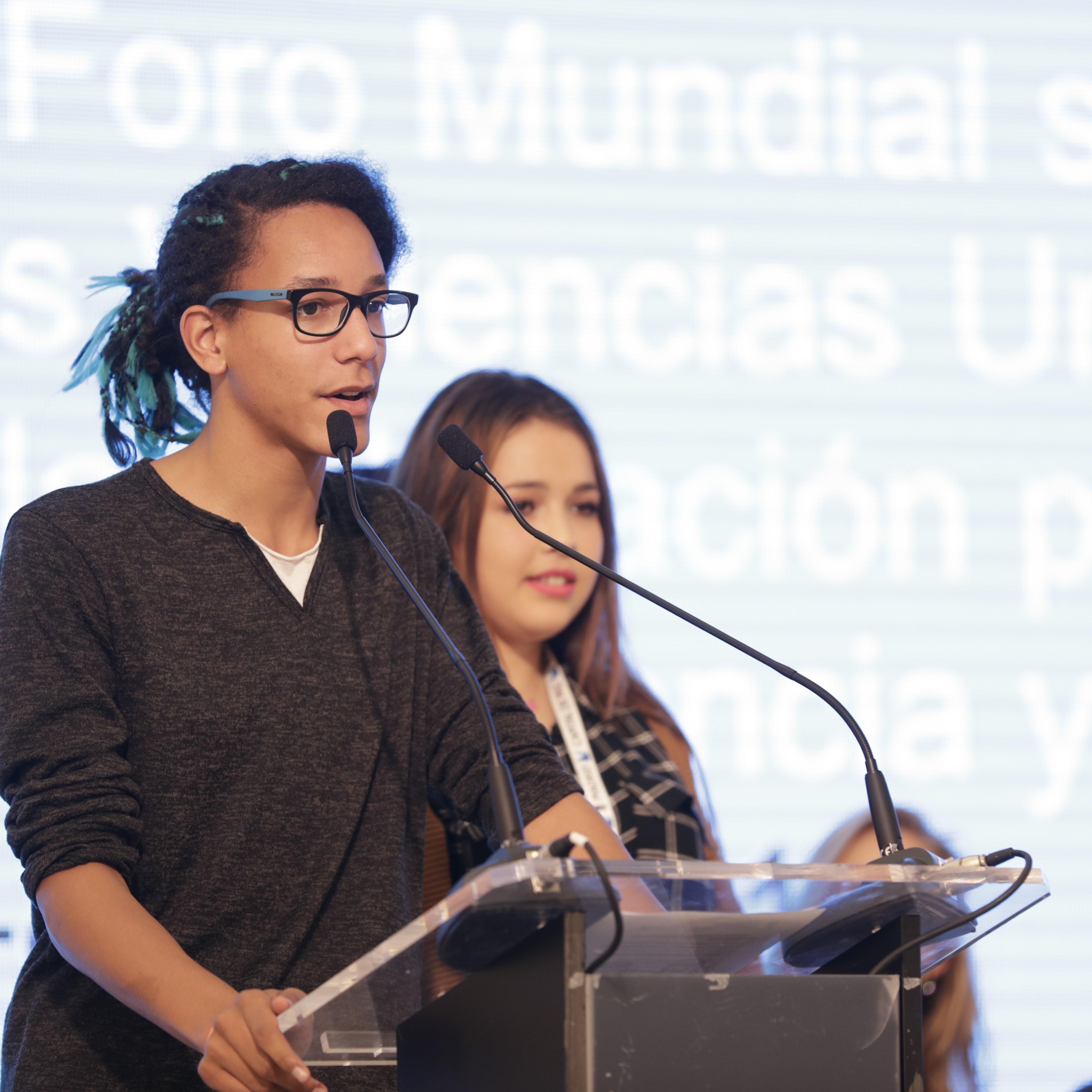 Los niños exponen en Madrid su plan para frenar la violencia contra la infancia