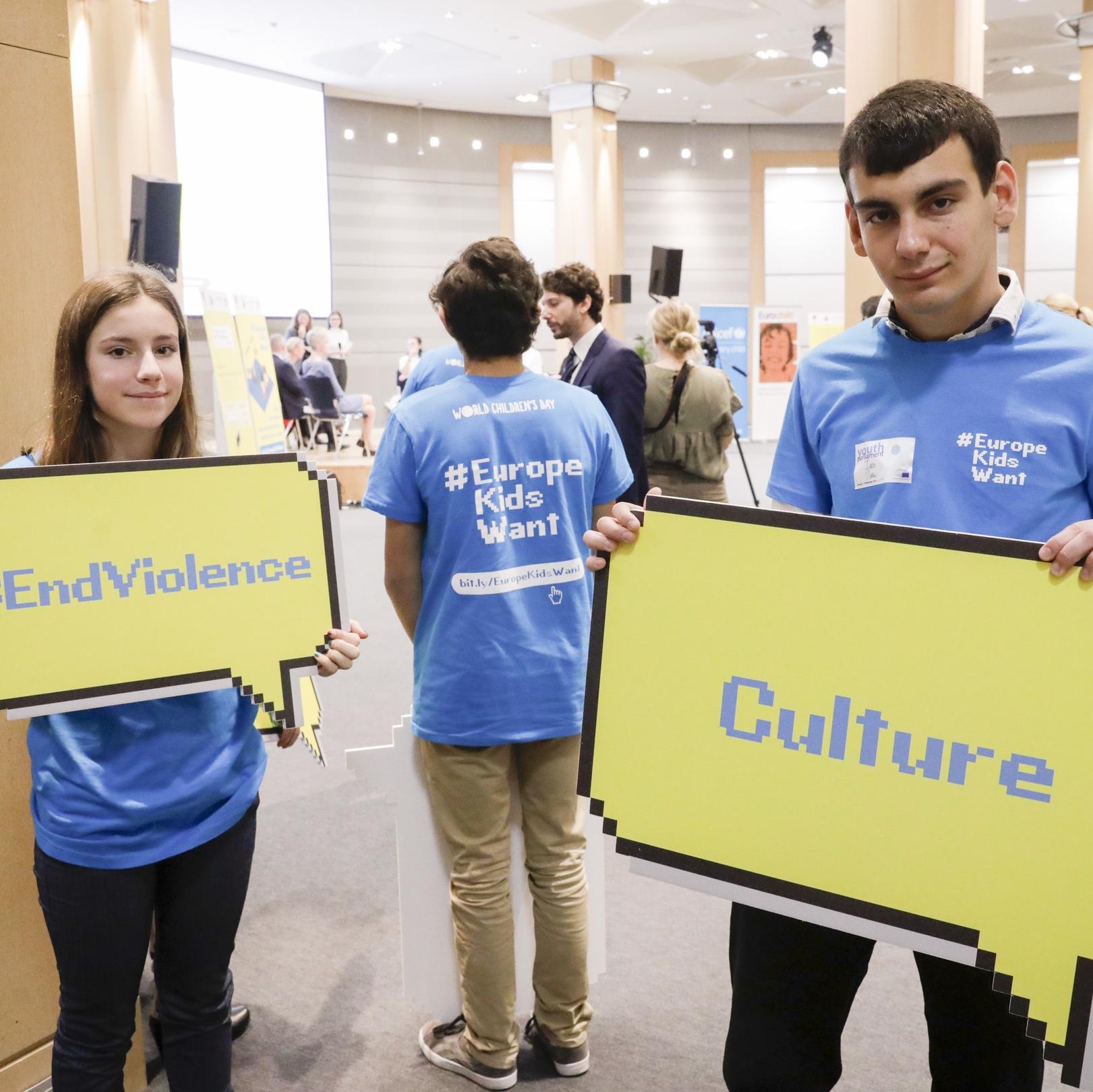 La participación infantil española apunta a Europa en el Día Universal de la Infancia