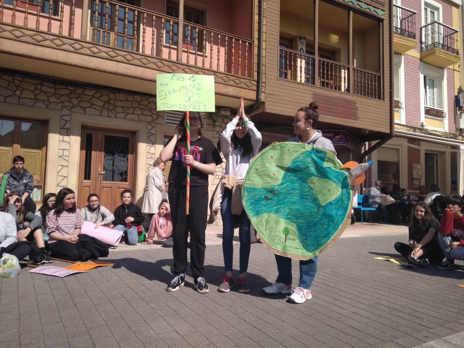 Grupos de Participación Infantil en Noreña exigen el cumplimiento de los ODS