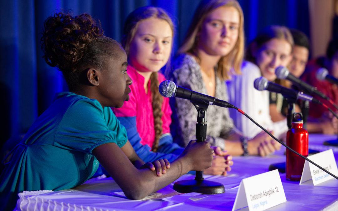Jóvenes de todo el mundo lideran la Huelga Mundial por el Clima