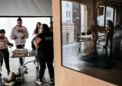 Fotografías: Preparación del taller autogestionado / UNICEF Comité Español/2019/Hugo Palotto