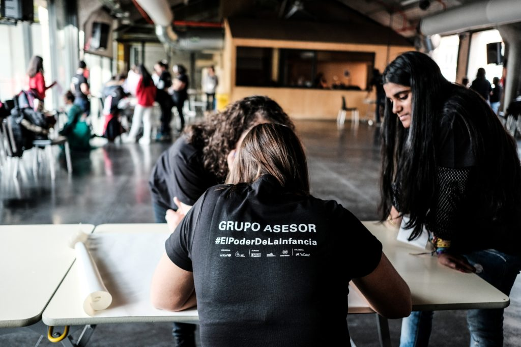Taller autogestionado / UNICEF Comité Español/2019/Hugo Palotto