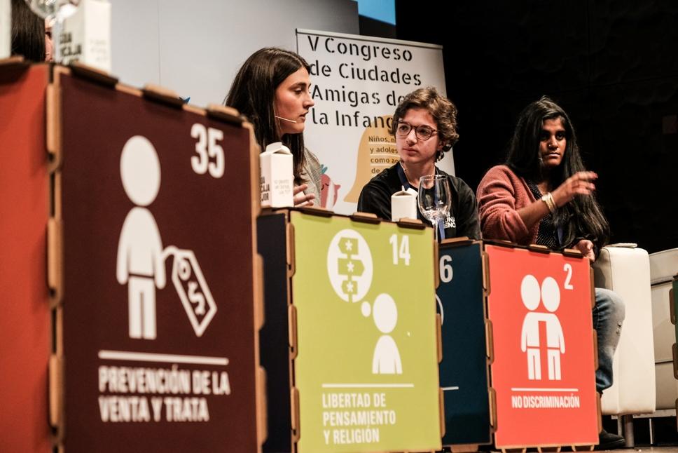 Representantes de Consejos de Participación en el V Congreso de Ciudades Amigas de la Infancia / UNICEF Comité Español/2019/Hugo Palotto