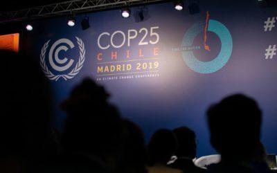 """El llamamiento de los jóvenes en la COP25: """"¡Pasemos a la acción YA!"""""""