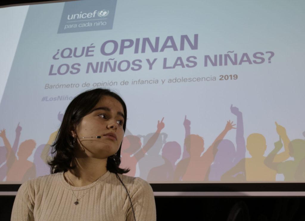 Presentación del Barómetro de Opinión de la Infancia y la Juventud 2019/ UNICEF Comité español
