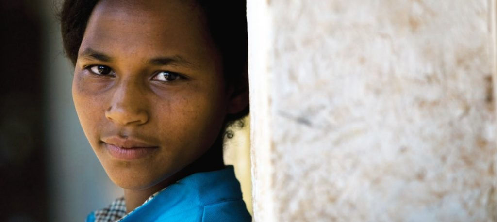 Fotografía del informe A New Era for Girls: Taking stock on 25 years of progress