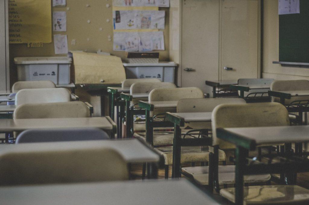 Colegio vacío / Feliphe Schiarolli para Unsplash
