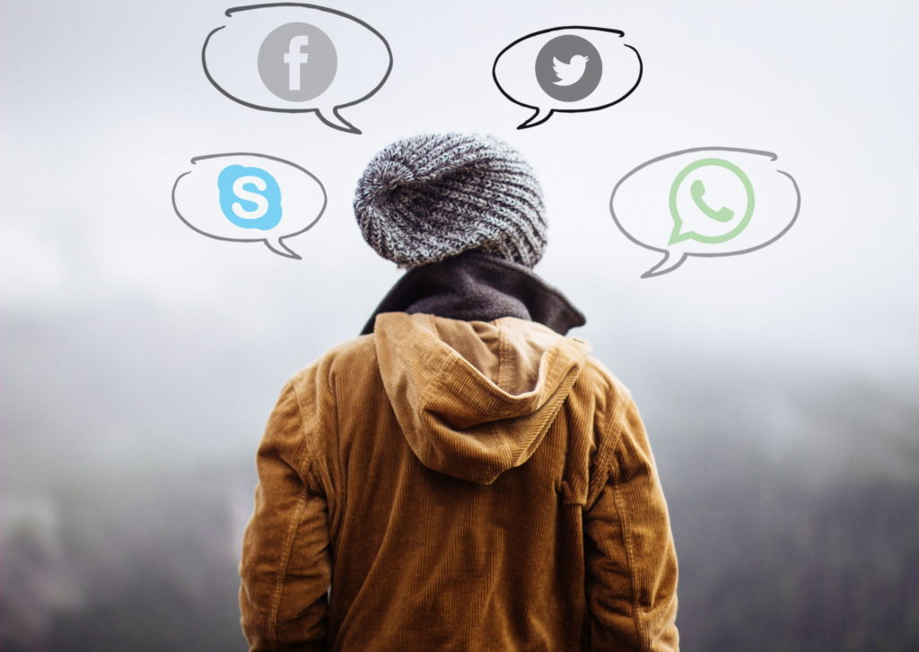 Redes sociales y comunicación online / Imagen de dominio público
