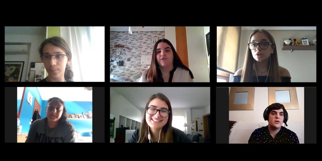 Encuentro en la segunda sesión del ciclo de participación online