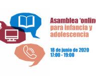 Asamblea 'online' de chicos y chicas: ¿quieres participar con temas que te interesen?