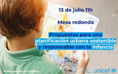 Te invitamos a la presentación 'online' de nuestro cuaderno para una planificación urbana con enfoque de infancia
