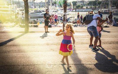 Los niños y niñas que viven en las ciudades necesitan más espacios públicos de proximidad