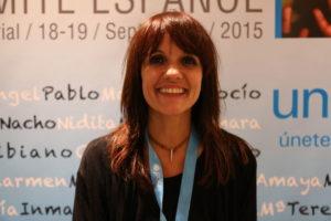 Silvia Casanovas. Especialista en Participación Infantil en UNICEF España