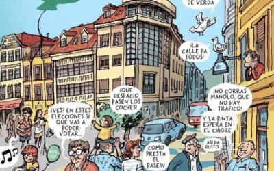 Laviana aprueba un plan de movilidad sostenible contando con la voz de la infancia