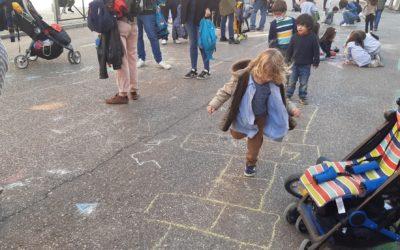 Una 'Revuelta Escolar' pide calles abiertas y seguras en los colegios