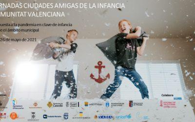 25 y 26 de mayo: la Comunidad Valenciana celebra sus jornadas de Ciudades Amigas de la Infancia