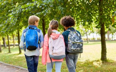 ¿Por qué todos los niños y niñas deberían ir andando al colegio?