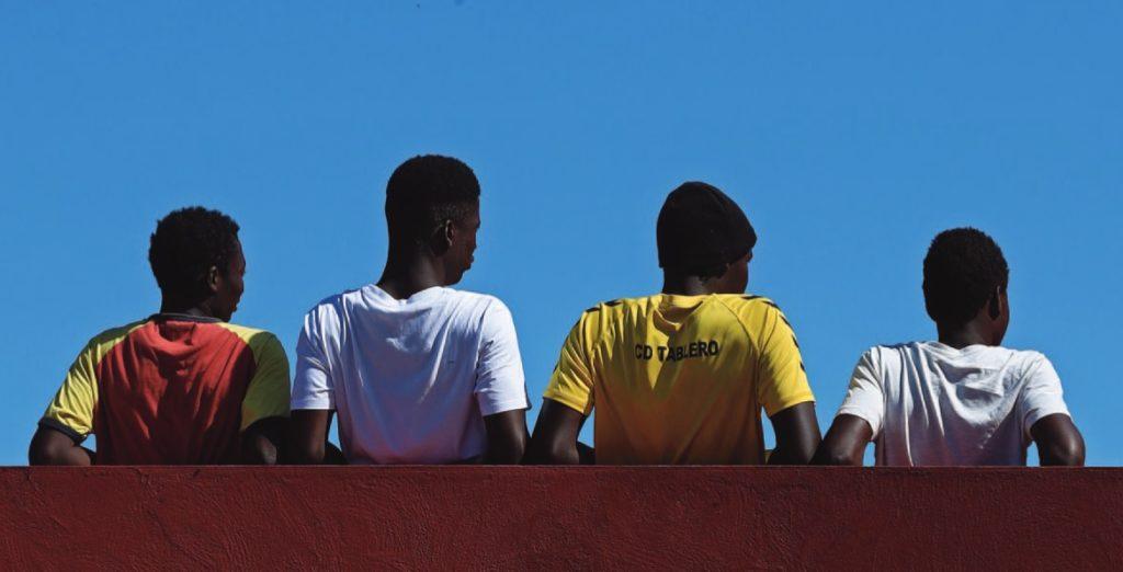Infancia migrante Canarias